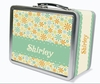 Pretty Petals Personalized Lunch Box