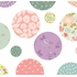 Pretty Polka Dots Fabric Wall Decals