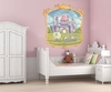 Pretty Princess Castle Mural Wall Decal