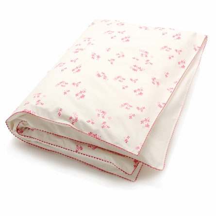 Pretty with Pink Toddler Duvet Cover