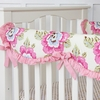 Primrose Crib Rail Cover