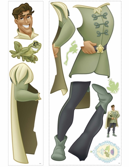 Prince Naveen Giant Peel & Stick Wall Decal