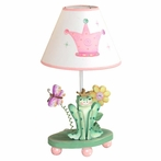Princess and Frog Girls Table Lamp