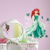 Princess Ariel Glitter Wall Decals