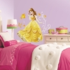 Princess Belle Glitter Wall Decals