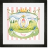 Princess Coach Framed Art Print