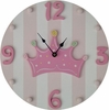 Princess Crown Wall Clock