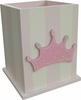 Princess Crown Waste Basket