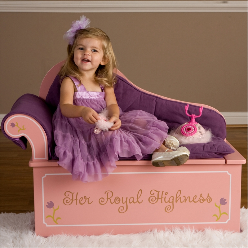 Princess Fainting Bench Seat With Storage By Levels Of