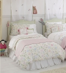 Princess Floral Reversible Twin Duvet Cover