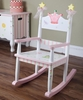 Princess & Frog Crown Rocking Chair