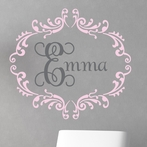 Princess Interlock Wall Decal