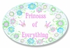 Princess of Everything Wall Plaque