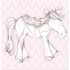 Princess Pony in Pink Canvas Reproduction