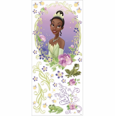 Princess & the Frog Peel & Stick Wall Medallion