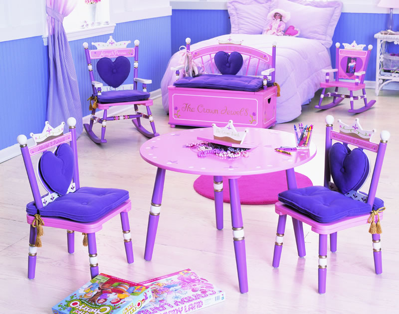 Princess Vanity Table Amp Chair Set By Levels Of Discovery
