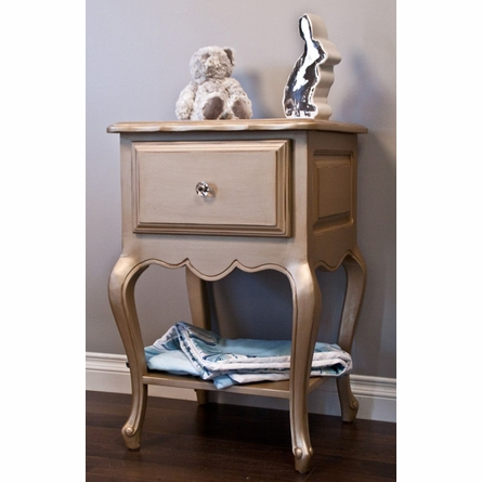 Provence Nightstand with Shelf