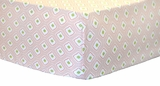 Pucker Up in Pink Crib Sheet $(+50.00)
