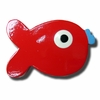 Puffer Fish Red Drawer Pull