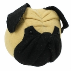 On Sale Pug Dog Head Faux Taxidermy