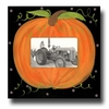 Pumpkin Coal Picture Frame