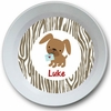 Puppy Love Personalized Melamine  Bowl