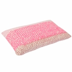 Purl Pink Cloth Pillow