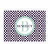 Purple Bottlecap Diamond Personalized Cutting Board