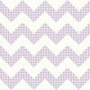 Purple Dots Chevron Wallpaper