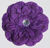 Purple Gardenia Blooming Fabric Flower