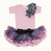 Purple Leopard Tutu Set
