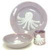 Purple Octopus Character Personalized Ceramic Dish Collection
