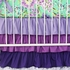 Purple Paige Crib Bedding Set