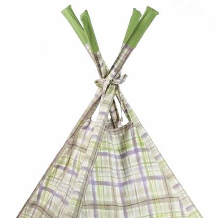 Purple Plaid Teepee