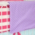Purple Polka Dots Crib Blanket