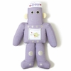 Purple Robot Shaped Pillow