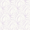 Purple Scribble Dots Wallpaper