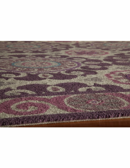 Purple Suzani Rug