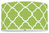 Quatrefoil Apple Green