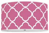 Quatrefoil Hot Pink