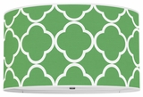 Quatrefoil Kelly Green