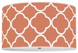 Quatrefoil Orange