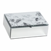 Queen Anne's Lace Mirrored Jewelry Box