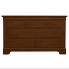 Quick Ship All Seasons Double Dresser in Cherry