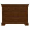 Quick Ship All Seasons Single Dresser in Cherry
