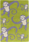 Quick Ship! Barrel of Monkeys Kids Rug - 5 x 7.6 Feet