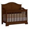 Quick Ship Built to Grow Acclaim Crib in Antique Cherry