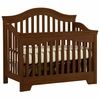 Quick Ship Built to Grow Bravo Crib in Antique Cherry