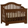 Quick Ship Built to Grow Bravo Crib in Cherry