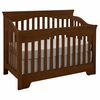 Quick Ship Built to Grow Debut Crib in Antique Cherry